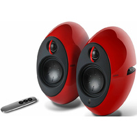 Edifier E25HD LUNA HD Bluetooth Speakers Red - BT/3.5mm/Optical DSP 74W