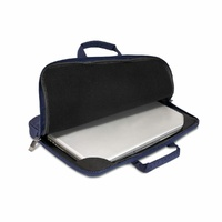 "Everki 15.6"" ContemPRO Laptop Sleeve with Memory Foam - Navy"