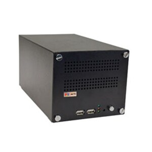 4CH ACTI MINI NVR WITH HDMI 1080P DISPLAY USB BUILT IN DHCP SERVER 2X HDD BAY