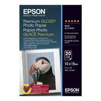 Epson A4 Premium Glossy Photo Paper 20 Sheets