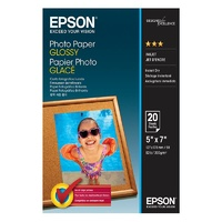 "Epson 5"" x 7"" Glossy Photo Paper 20 Sheets"