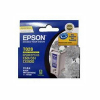 Epson T028 Black Ink Cartridge 420 pages Black