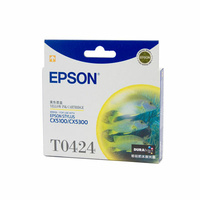 Epson T0424 Yellow Ink Cart 420 pages Yellow