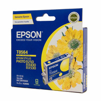 Epson T0564 Yellow Ink Cart 290 pages Yellow