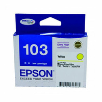 Epson 103 High Yield Yellow Ink Cartridge