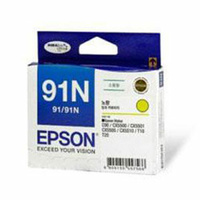 Epson 91N Yellow Ink Cart 215 pages Yellow