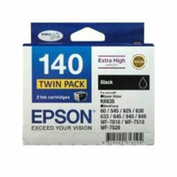 Epson 140 Black Twin Pack 945 pages x 2 Black
