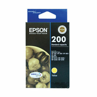 Epson 200 Yellow Ink Cartridge 165 pages Yellow