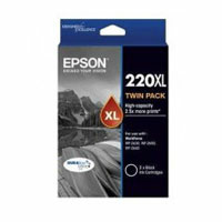 Epson 220 HY Black Twin Pack
