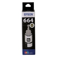 Epson T664 EcoTank Black Ink Bottle