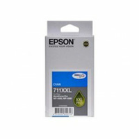 Epson 711XXL Cyan Ink Cart 3,400 pages Cyan