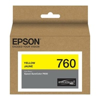 Epson 760 UltraChrome HD Yellow Ink Cartridge