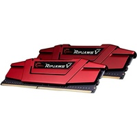 G.SKILL Ripjaws V Blazing Red 16GB (2x 8GB) DDR4 2400MHz Desktop Memory F4 F4-2400C15D-16GVR