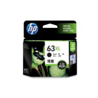 HP #63XL Black Ink Cartridge 480 pages (F6U64AA)