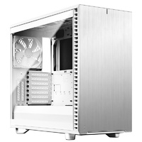 Fractal Design Define 7 Clear Tempered Glass Mid-Tower E-ATX Case - White