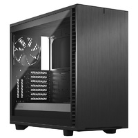 Fractal Design Define 7 Light Tempered Glass Mid-Tower E-ATX Case - Gray