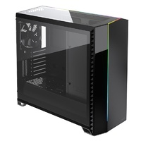 Fractal Design Vector RS Blackout Tempered Glass RGB Mid-Tower E-ATX Case