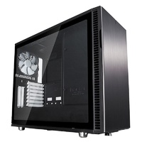 Fractal Design Define R6 USB-C TG Mid-Tower E-ATX Case - Black