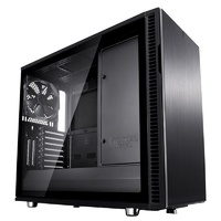 Fractal Design Define R6 USB-C TG Mid-Tower E-ATX Case - Blackout