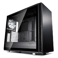 Fractal Design Define S2 TG Mid-Tower ATX Case - Black