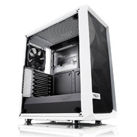 Fractal Design Meshify C Tempered Glass Mid-Tower ATX Case - White