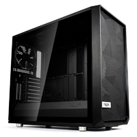 Fractal Design Meshify S2 Dark Tempered Glass USB-C Mid-Tower E-ATX Case - Black