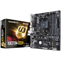 Gigabyte AX370M DS3H AM4 Micro ATX Motherboard