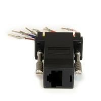 StarTech DB9 to RJ45 Modular Adapter - M/F
