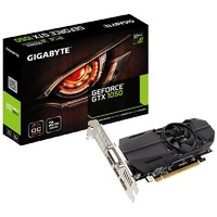 Gigabyte GeForce GTX 1050 OC 2GB Low Profile Video Card GV-N1050OC-2GL