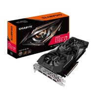Gigabyte AMD Radeon Navi RX 5700 XT Gaming 8GB GDDR6 PCIe Video Card 8K 7680x4320@60Hz 4xDisplays 3xDP HDMI 1905/1650MHz FreeSync RGB ~GV-R57XT-8GD-B
