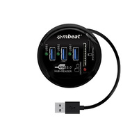 mbeat« Portable USB 3.0 Hub and Card Reader