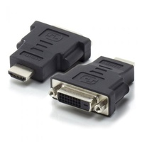 ALOGIC Premium HDMI (M) to DVI-D (F) Adapter - Male to Female - Retail Blister Packaging