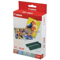 Canon KC36IP Card Full Size Paper & Ink Pack 36 Sheets