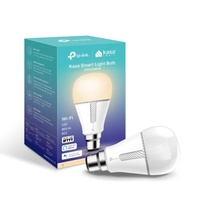 TP-Link KL110B Kasa Smart Light Bulb, Bayonet Fitting, Dimmable, No Hub Required, Voice Control, 2700K, 800lm, 10W, 2.4 GHz, 2 Year Warranty