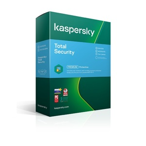 Kaspersky Total Security Premium 1 Device 1 Year License Key 2021 - Physical Pack Version