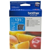 Brother LC131C Cyan Ink Cartridge Genuine