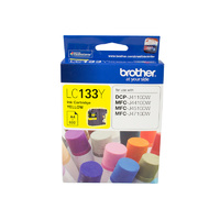 Brother LC-133 Ink Cartridge Yellow