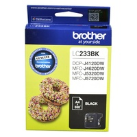 Brother LC233BK Ink Cartridge - Black
