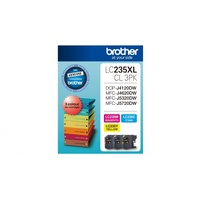Brother LC235XLCL3PK Ink Cartridge- Magenta/Yellow/Cyan
