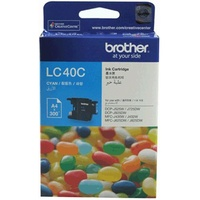 Brother LC40C Cyan Ink Cartridge For Brother DCP / MFC