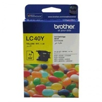 Brother LC40Y Yellow Ink Cartridge For Brother DCP/MFC