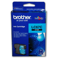 Brother LC67C Ink Cartridge CYAN