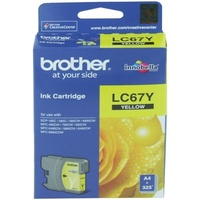 Brother LC67Y Yellow Ink Cartridge