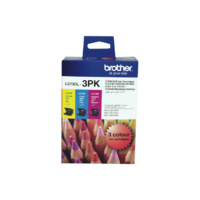 Brother LC-73 Colour Ink 3 Pack LC73CL3PK