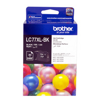 Brother LC77XL-BK Black Ink Cartridge Genuine