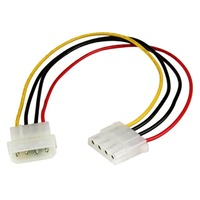 StarTech 12in LP4 Extender Cable 4pin Molex Power Extension