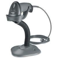 Zebra Barcode Scanner LS2208 - USB Kit, Black (with Stand)