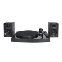 mbeat« Pro-M Bluetooth Stereo Turntable System (Black)