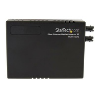 StarTech MM Fiber Ethernet Media Converter ST 2km