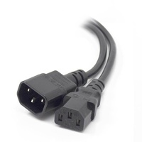 Alogic 1.5m Computer Power Extension Cord (IEC320C13 to IEC320C14)